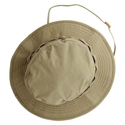Khaki Boonie Cover Hat Top View