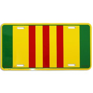 Vietnam Service Ribbon License Plate