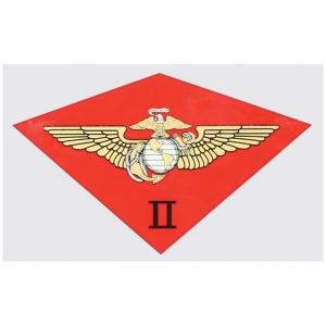 Red 2nd Marine Air Wing Decal