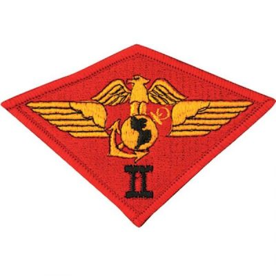 Red 2nd Marine Air Wing Patch
