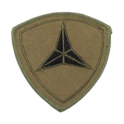 3rd Marine Division Muted Olive Drab Patch