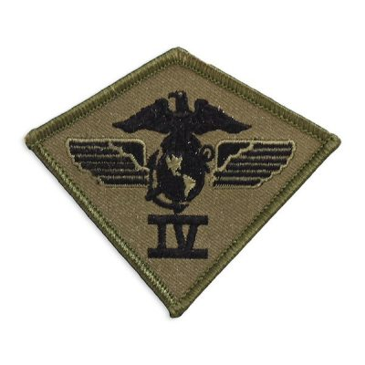 1st Marine Air Wing Muted Olive Drab Patch