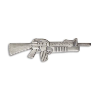 M16 Rifle with M203 Grenade Launcher Pin