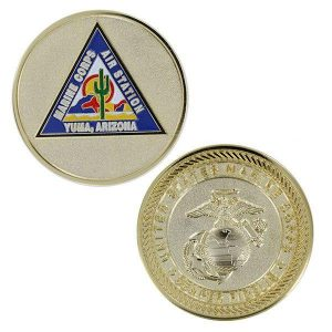 Marine Air Station Yuma Arizona Challenge Coin