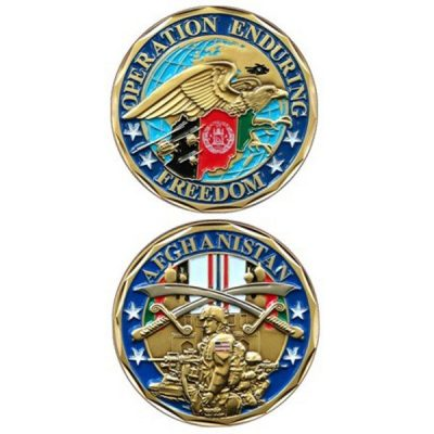 Operation Enduring Freedom Afghanistan Coin