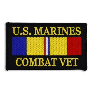 U.S. Marines Combat Vet with Combat Action Ribbon Patch