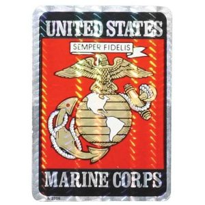 United States Marine Corps EGA Prism Refelctive Decal