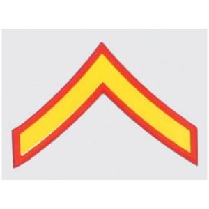 USMC Private First Class Decal