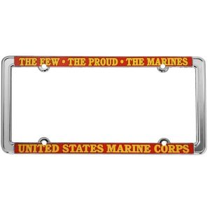 USMC The Few The Proud The Marines License Plate Frame