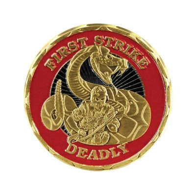 United States Marines First Strike Deadly Coin Front