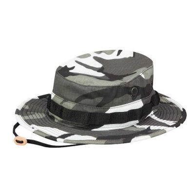 Urban Camo Boonie Cover Side View