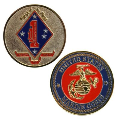 1st Battalion 1st Marines First of the First Coin