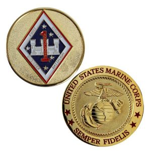 1st Combat Engineer Battalion Coin