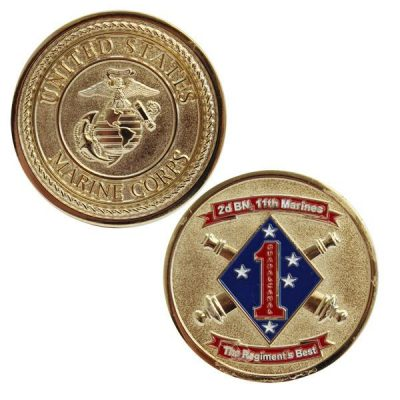 2nd Battalion 11th Marines The Regiments Best Coin