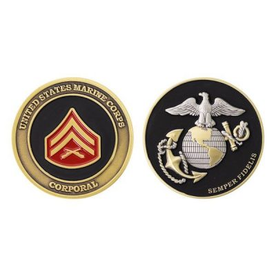 United States Marine Corporal Coin