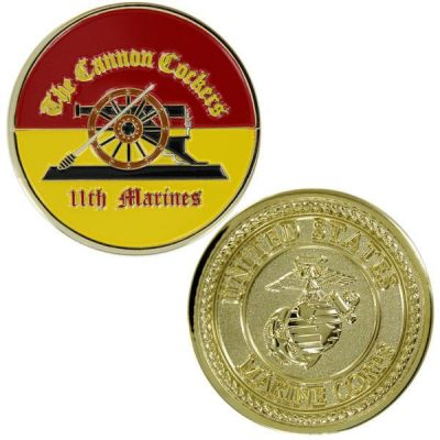 USMC 11th Marines Regiment Cannon Cockers Coin