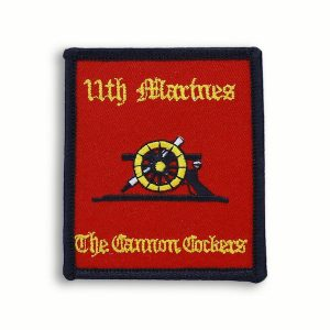Red 11th Marine Regiment Patch