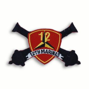 12th Marine Regiment Patch Cannons