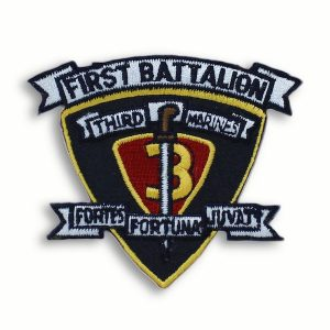 1st Battalion 3rd Marines Patch Lava Dogs