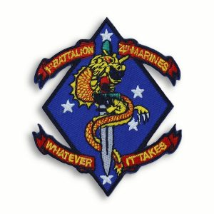 Whatever It Takes 1st Battalion 4th Marines Patch