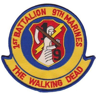1st bn 9th marines patch