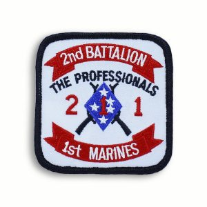 The Professionals 2nd Battalion 1st Marines Patch