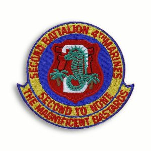 2nd Battalion 4th Marines Patch The Magnificent Bastards