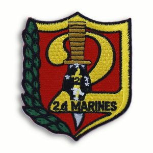 2nd Marine Regiment Patch