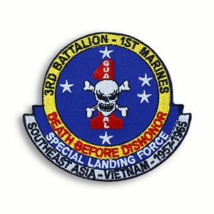 Death Before Dishonor 3rd Battalion 1st Marines Patch
