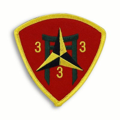 3rd Battalion 3rd Marines Triangle Patch