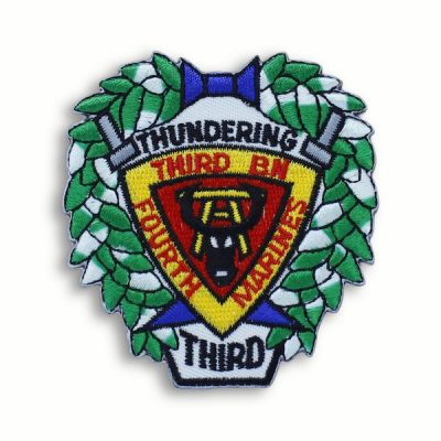 3rd Battalion 4th Marines Thundering Third Patch