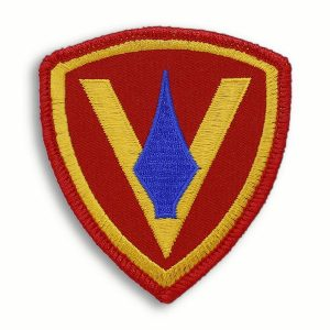 Historic 5th Marine Division Patch