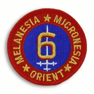 Historic 6th Marine Division Round Patch