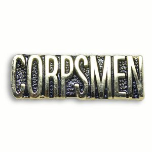 Matallic Pin for USMC Corpsmen