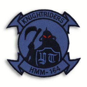 Balck and Blue HMM-164 KnightRiders Patch