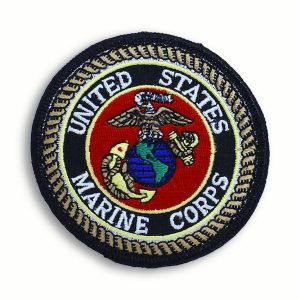 Circular United States Marine Corps EGA Patch