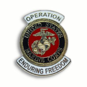 USMC Operation Enduring Freedom Pin