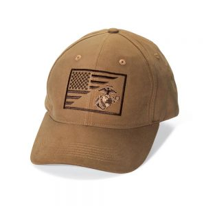 USMC ega and usa flag hat