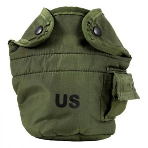 US military canteen cover