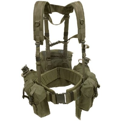 usmc duty belt with lbv and ammo pouches