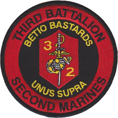 3rd Bn 2nd Marines Patch
