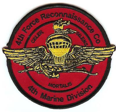 4th Force Recon Company Patch