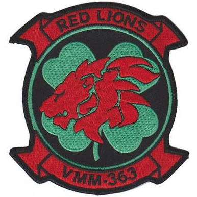 VMM-363 Red Lions Patch