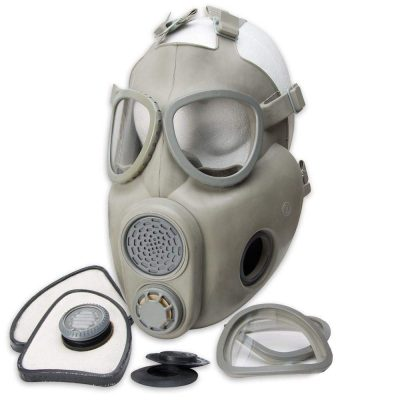 m10 military gas masks new