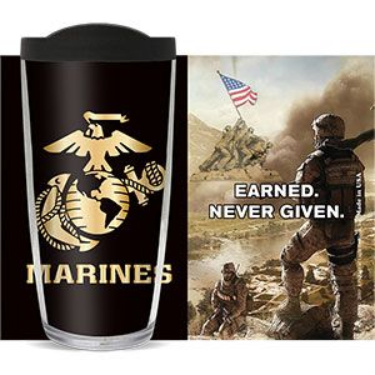 Marines Earned Never Given Travel Coffee Cup