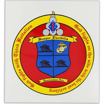 3rd Battalion 11th Marines Semper Flexibilis Vinyl Decal