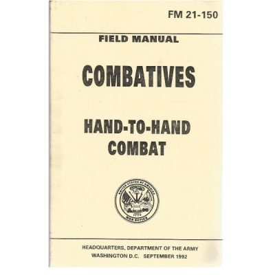 Military Hand to hand combat manual