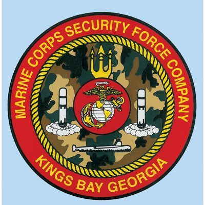 Marine Force Security Company Vinyl Decal