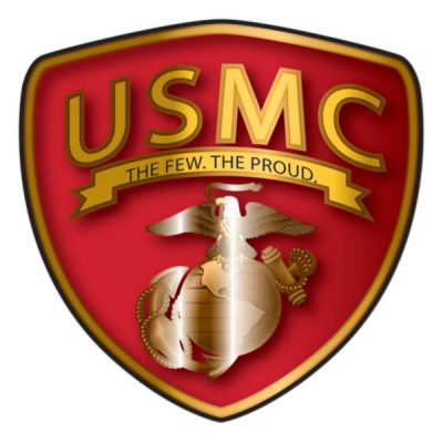 USMC The Few The Proud Shield Decal