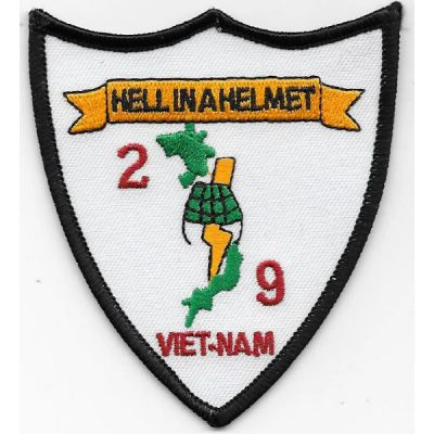2nd Bn 9th Marines Hell In A Helmet Patch